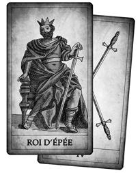 Cartes d'Épée du Tarot