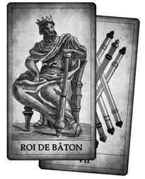 Cartes de Bâton du Tarot