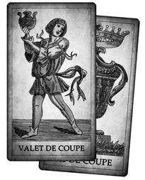 Cartes de Coupe du Tarot