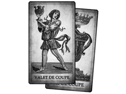 Cartes de Coupe du Tarot