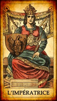 Carte de Tarot « L'Impératrice »