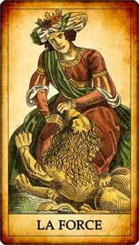 Carte de Tarot « La Force »