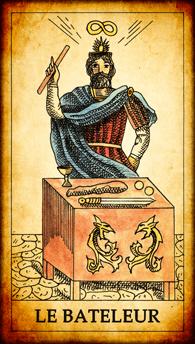 Carte de Tarot « Le Bateleur »