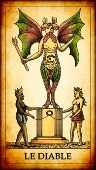 Carte de Tarot « Le Diable »