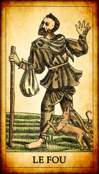 Carte de Tarot « Le Fou »