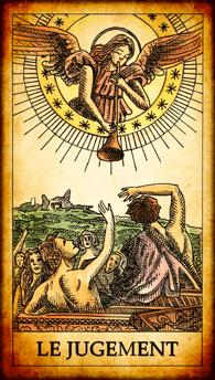 Carte de Tarot « Le Jugement »