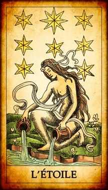 Carte de Tarot « L'Étoile »