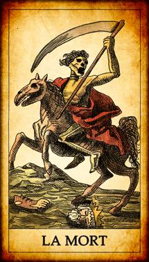 Carte de Tarot « La Mort »