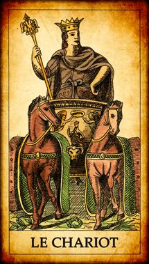 Carte de Tarot « Le Chariot »