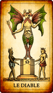 Carte de Tarot « Le Diable »