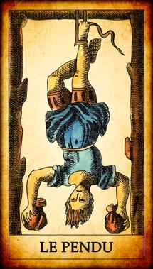 Carte de Tarot « Le Pendu »