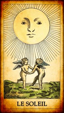 Carte de Tarot « Le Soleil »