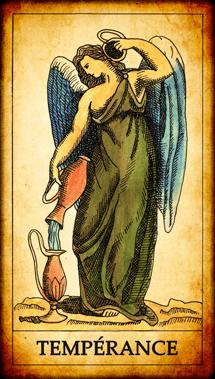 Carte de Tarot « Tempérance »