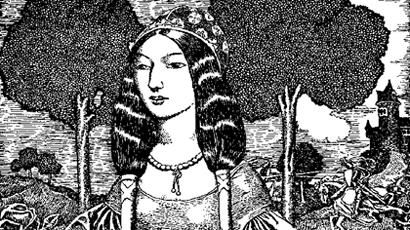 Femme Noble Médiévale