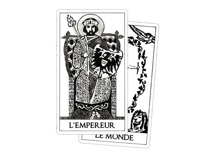 Arcanes Majeurs – Tarot Blanc des Archétypes