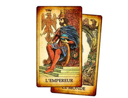 Arcanes Majeurs – Tarot des Jeux de Cour