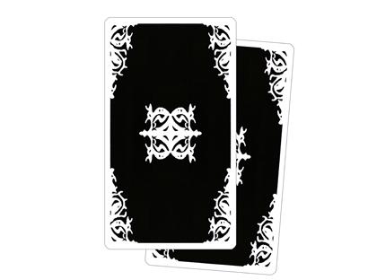 Dos des Cartes – Tarot Blanc des Archétypes