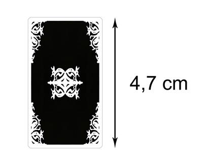 Dos des Cartes Version Miniature – Tarot Blanc des Archétypes