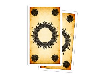 Dos des Cartes – Tarot des Jeux de Cour
