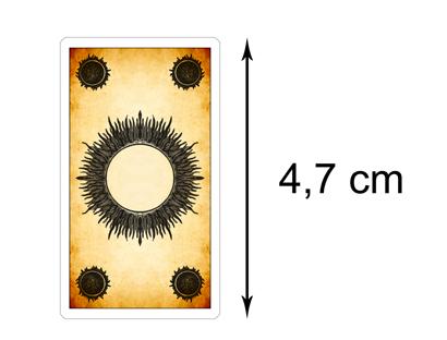 Dos des Cartes Version Miniature – Tarot des Jeux de Cour