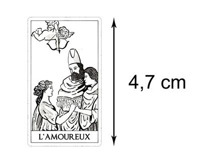 Version Miniature – Tarot Blanc des Archétypes