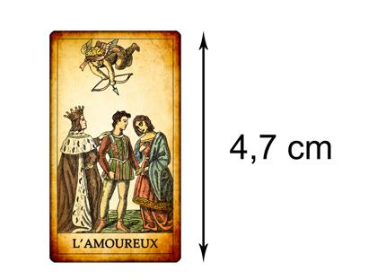 Version Miniature – Tarot des Jeux de Cour