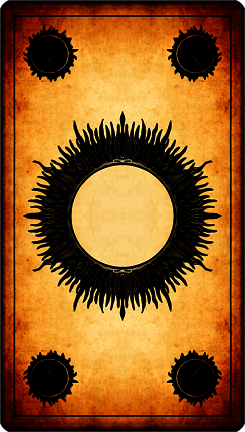 Dos Carte Sombre